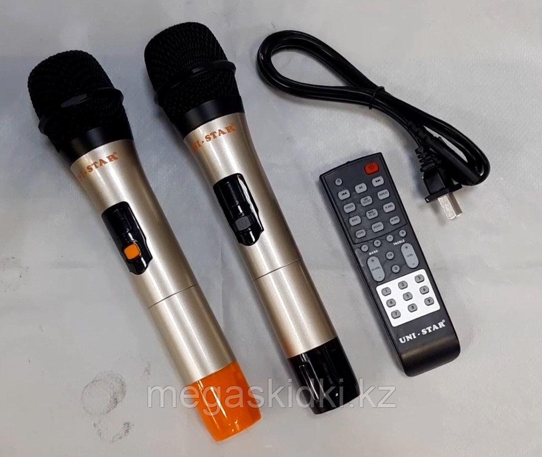 Колонка Bluetooth с аккумулятором UNI-STAR HKD-8802 - фото 5