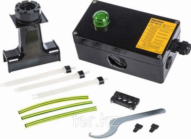 JBM-100-ЕP Соединительная коробка для подключения питания к трем греющим кабелям JBM-100-E