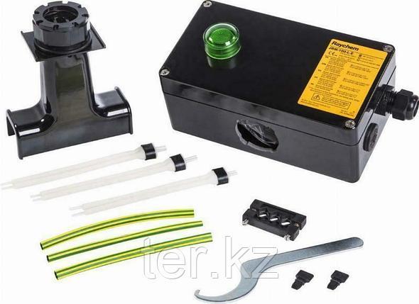 JBM-100-ЕP Соединительная коробка для подключения питания к трем греющим кабелям JBM-100-E, фото 2