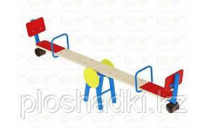 Качалка-балансир со спинкой, металлический