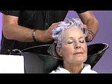 Шампунь для нейтрализации желтизны седых и обесцвеченных волос Loreal Professional Silver 300 мл., фото 3