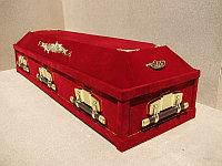 Гроб бархатная шкатулка