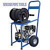 Гидродинамический аппарат промывки канализационных труб и прочистки засоров