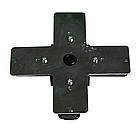 Соединитель CONNECT (Х-образный) черный, фото 2