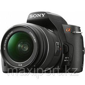 Зеркальная камера Sony DSLR-A390 2 объектива 18-55 55-200