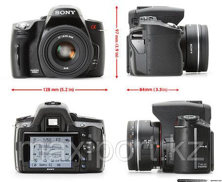 Зеркальная камера Sony DSLR-A390 2 объектива 18-55 55-200, фото 2