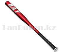 Бейсбольная бита алюминиевая красная BAT Chuangxin 64 см GF-1249А