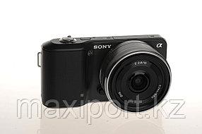 Sony alpha nex-3 16mm объектив в комплекте