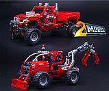 Конструктор Decool Technic Тюнингованный пикап 3362 (Аналог LEGO Technic 42029) 1063 дет, фото 4