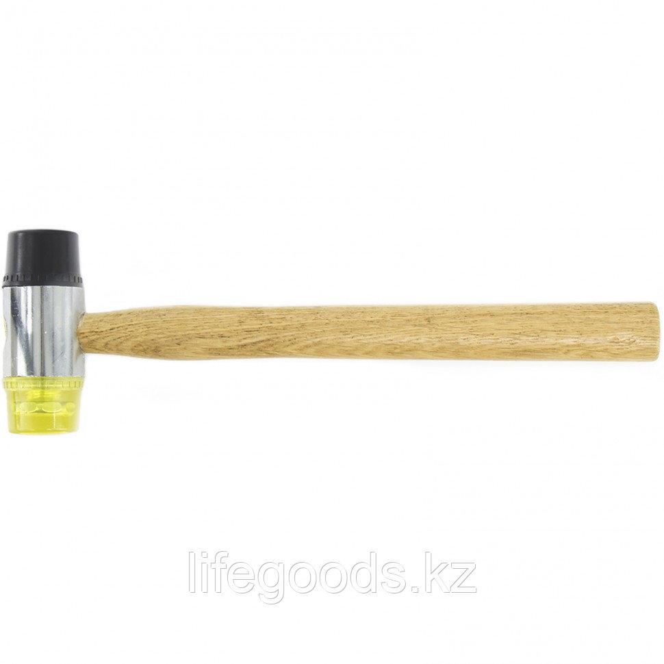 Молоток рихтовочный, бойки 35 мм, комбинированная головка, деревянная ручка Sparta 108305
