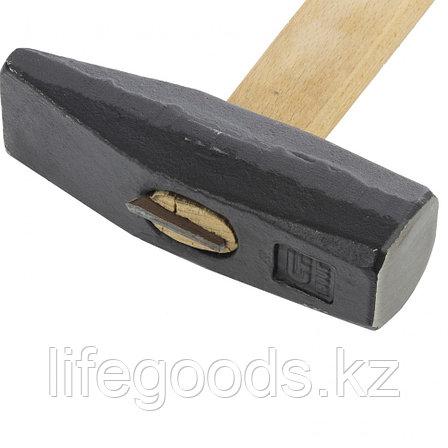 Молоток слесарный 1500 г, квадратный боек, деревянная рукоятка Сибртех 10223, фото 2