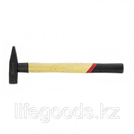 Молоток слесарный, 200 г, квадратный боек, деревянная рукоятка Matrix 10227, фото 2