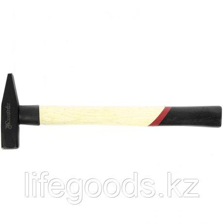 Молоток слесарный, 300 г, квадратный боек, деревянная рукоятка Matrix 10228, фото 2