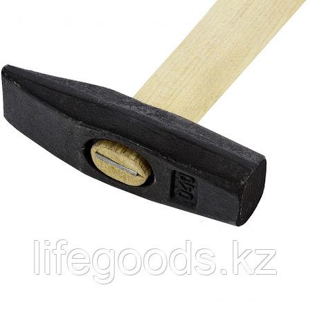 Молоток слесарный, 400 г, квадратный боек, деревянная рукоятка Россия 10265, фото 2