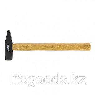 Молоток слесарный, 500 г, квадратный боек, деревянная рукоятка Sparta 102105, фото 2