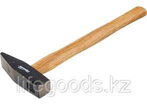 Молоток слесарный, 800 г, квадратный боек, деревянная рукоятка Sparta 102155, фото 2