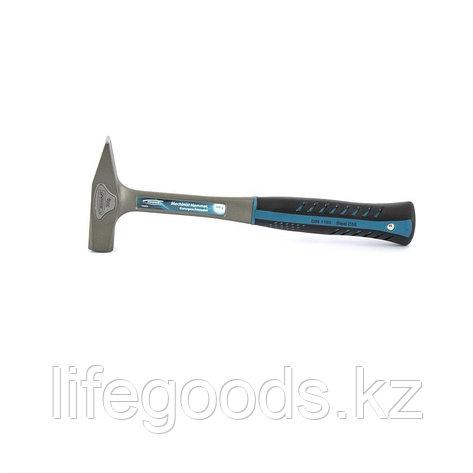 Молоток слесарный, цельнокованый, трехкомпонентная рукоятка, 300 г Gross 10400, фото 2