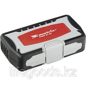 Набор бит и сверл, магнитный адаптер, CrV, пластиковый кейс, 40 шт. Matrix 11322, фото 2