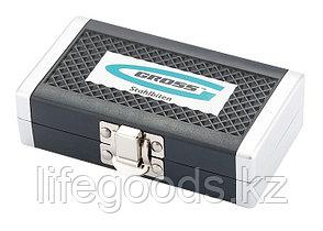 Набор бит, 1/4, магнитный адаптер, сталь S2, пластиковый кейс, 33 предмета Gross 11365, фото 2