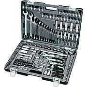 Набор инструмента, 1/4, 3/8, 1/2, Cr-V, S2, усиленный кейс, 216 предметов Stels 14115