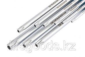 Набор ключей имбусовых TORX-TT, 9 шт: T10-T50, экстра-длинные, S2, сатинированные Gross 16408, фото 2