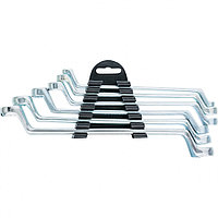 Набор ключей накидных, 6-17 мм, 6 шт, хромированные Sparta 153305