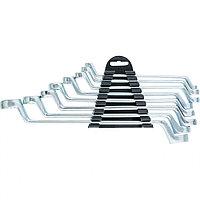 Набор ключей накидных, 6-22 мм, 8 шт, хромированные Sparta 153755