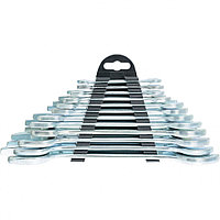 Набор ключей рожковых, 6 х 32 мм, 12 шт, хромированные Sparta 152945