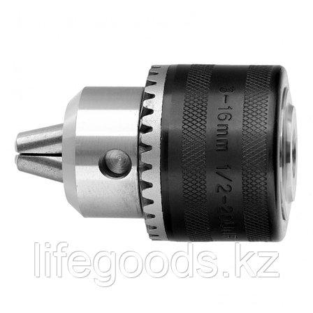 Патрон для дрели ключевой, 3-16 мм, 1/2 Сибртех 168267, фото 2
