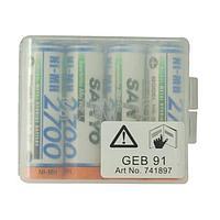 Аккумуляторные батареи Leica GEB91 SANYO (Ni-MH 1.2V/2700mAh) 4 шт