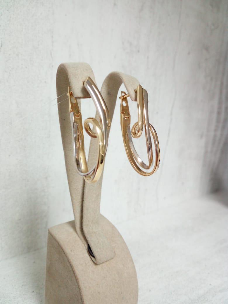 Золотые серьги - Крученые конго