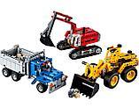 Конструктор Decool Technic Строительная команда 3365 (Аналог LEGO Technic 42023) 834 дет, фото 5