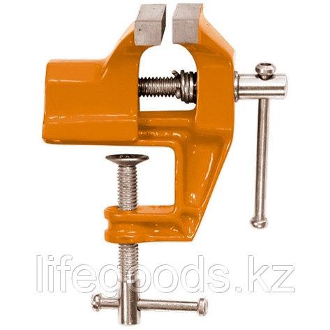 Тиски, 60 мм, крепление для стола Sparta 185095, фото 2