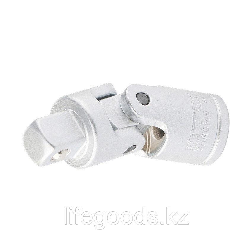 Шарнир карданный с квадратом 3/8, CrV Stels 13819