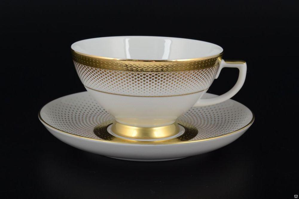 Сет чашек для эспрессо Rio Black ( белый )