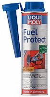 """Присадка в топливо """"Антилед"""" cредство для удаления влаги из топлива LIQUI MOLY Fuel Protect 300 ml."""