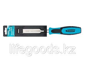 Долото-стамеска Piranha, 19 мм, двухкомпонентная эргономичная рукоятка Gross 25009, фото 2