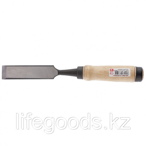 """Долото-Стамеска, плоская, 25 мм, деревянная рукоятка """"Арефино"""" Россия 24262, фото 2"""