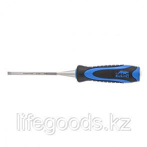 Долото-стамеска, плоская, 6 мм, двухкомпонентная рукоятка, металлический затыльник Барс 24631, фото 2