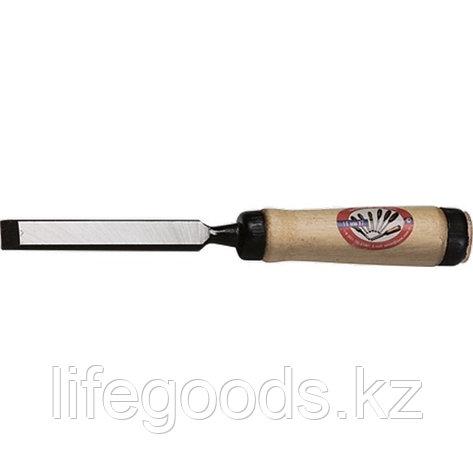 """Долото-Стамеска, плоская, 8 мм, деревянная рукоятка """"Арефино"""" Россия 24245, фото 2"""