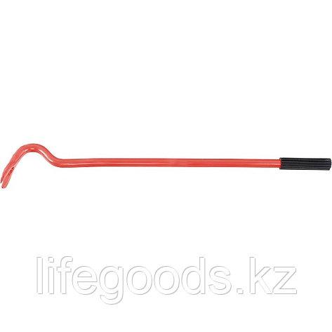 Лом-гвоздодер круглый, 500 мм, D 17 мм, резиновая ручка Россия 25295, фото 2