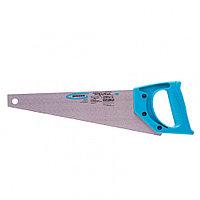 """Ножовка для работы с ламинатом """"Piranha"""", 360 мм, 15-16 TPI, зуб 2D, каленый зуб, пласт.рук-ка Gross 24121"""