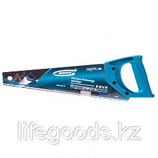 """Ножовка для работы с ламинатом """"Piranha"""", 360 мм, 15-16 TPI, зуб 2D, каленый зуб, пласт.рук-ка Gross 24121, фото 3"""