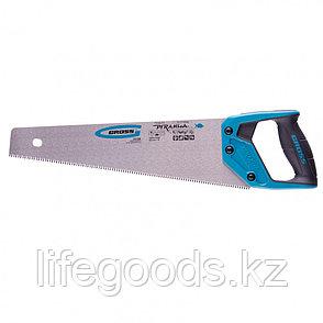 "Ножовка по дереву ""Piranha"", 400 мм, 7-8 TPI, зуб-3D, каленый зуб, двухкомпонентная рукоятка Gross, фото 2"