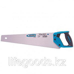 "Ножовка по дереву ""Piranha"", 450 мм, 11-12 TPI, зуб-3D, каленый зуб, двухкомпонентная рукоятка Gross, фото 2"