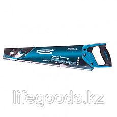 "Ножовка по дереву ""Piranha"", 450 мм, 11-12 TPI, зуб-3D, каленый зуб, двухкомпонентная рукоятка Gross, фото 3"