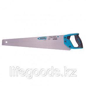 "Ножовка по дереву ""Piranha"", 550 мм, 11-12 TPI, зуб-3D, каленый зуб, двухкомпонентная рукоятка Gross, фото 2"