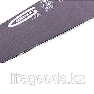 """Ножовка по дереву """"Piranha"""", 550 мм, 11-12 TPI, зуб-3D, каленый зуб, тефлоновое покрытие полотна,, фото 2"""