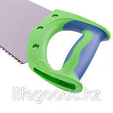 """Ножовка по дереву """"Зубец"""", 450 мм, 7-8 TPI, каленый зуб 2D, двухкомпонентная рукоятка Сибртех 23803, фото 2"""