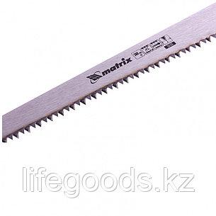 Ножовка по дереву выкружная, 300 мм, каленый зуб, двухкомпонентная рукоятка Matrix 23103, фото 2
